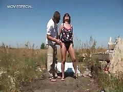 Exciting milf gets her hairy muf banged part1