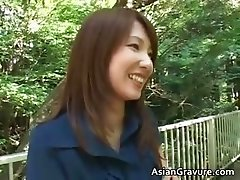 Cute oriental chick sucks weiner part2