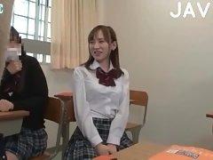 Busty Japanese Babe Seducing A Guy