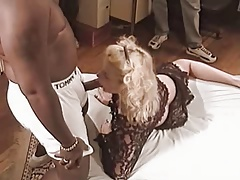Blonde Slut Wife Banged By BBC