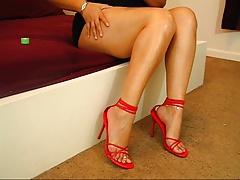 Findom Foot Goddess Teases, Findom Talk, JOI