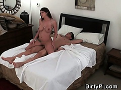 Brunette Cheater With Natural Tits Banged On Spy Cam