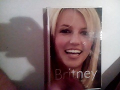 Cum on Britney Spears