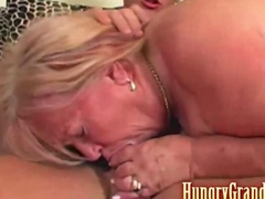 Chubby granny slut Jenifer wants to deepthroat