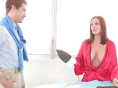 Lucky stud screwed his horny step mom