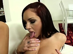 There's no cock too big for the insatiable Amy Reid! Heck,