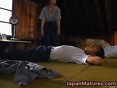 Chisato Shouda Lovely mature Asian chick part4