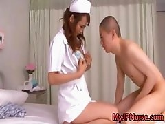 Akina sweet hot asian nurse part1